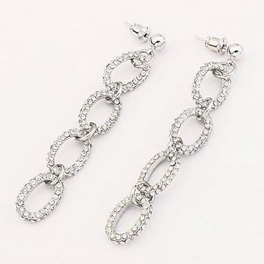 Dames Oorknopjes Druppel oorbellen Ring oorbellen imitatie Diamond Basisontwerp Uniek ontwerp Logostijl Hangende stijl Parel Vriendschap