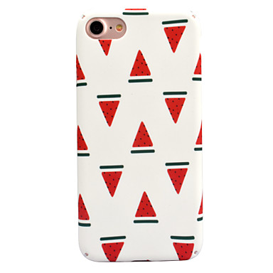 Pentru Apple iPhone 7 7 plus 6s 6 plus caz acoperă pepene verde decal de îngrijire a pielii touch pc material caz telefon