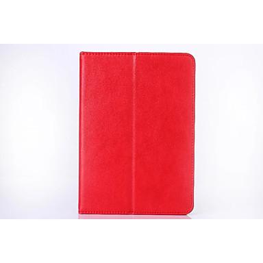 Voor Samsung Galaxy Tab s2 8.0 kaarthouder portemonnee hoesje full body case solid color hard pu leer