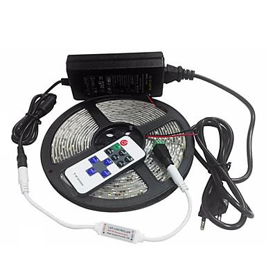 600 المصابيح RGB تحكم عن بعد قابل للقص تخفيت ضد الماء قابلة للربط مناسبة للالسيارات اللصق التلقي لون التغير أس 85-265V V