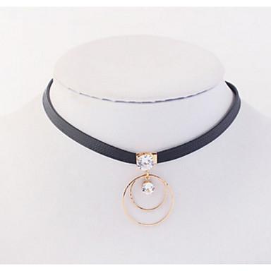 Pentru femei Fete Altele Circle Shape Formă Personalizat Lux Design Unic Stil Atârnat Pandantiv Clasic Vintage Stras Boem De Bază Sexy