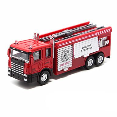 Jucării pentru mașini Vehicul Die-cast Vehicul cu Tragere Vehicul Pompieri Jucarii Altele Mașini de Pompiere Aliaj Metalic Bucăți Unisex