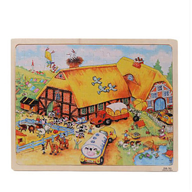 Holzpuzzle Holzmodelle Spaß Klassisch Kinder Unisex Geschenk