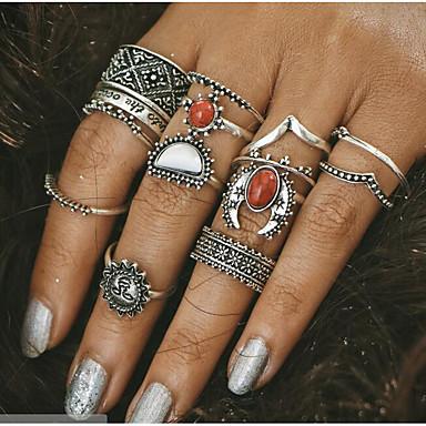 Pentru femei Argintiu Aliaj Vintage Zilnic Costum de bijuterii