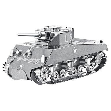 Legpuzzels 3D-puzzels Bouw blokken DHZ-speelgoed Tank Metaal Modelbouw & constructiespeelgoed