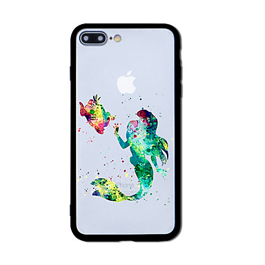 hoesje Voor Apple Patroon Achterkantje Tegel Hard Acryl voor iPhone 7 Plus iPhone 7 iPhone 6s Plus iPhone 6 Plus iPhone 6s iPhone 6