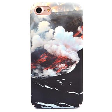 Für Apfel iphone 7 7 plus 6s 6 plus Fallabdeckung Meer der Wolken Musterabziehbildhautpflege-Noten-PC-Materialtelefonkasten
