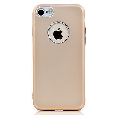 Hülle Für Apple Beschichtung Rückseitenabdeckung Volltonfarbe Weich TPU für iPhone 7 plus iPhone 7 iPhone 6s Plus iPhone 6 Plus iPhone 6s