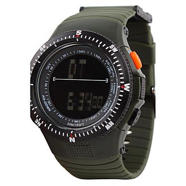 Herrn digital Armbanduhr Smartwatch Sportuhr Chinesisch Kalender Chronograph Rechenschieber Wasserdicht Nachts leuchtend Stopuhr Duale