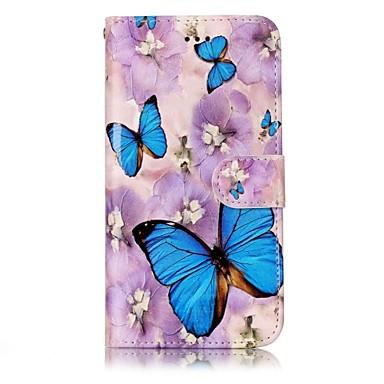Für huawei p10 lite p10 Telefon Fall Schmetterling Muster Lackierung Prozess PU Leder Material Telefon Fall p10 plus p9 lite p8 lite 2017