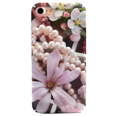 Voor apple iphone 7 7 plus 6s 6 plus case cover bloem patroon decal huidverzorging touch pc materiaal telefoon hoesje