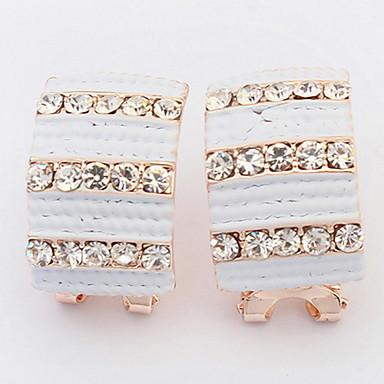 Pentru femei Cercei Stud Cercei Picătură Cercei Rotunzi  Diamant sintetic Personalizat Bijuterii Religioase Lux Design Circular Design