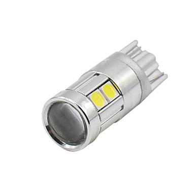 Недорогие Фары для мотоциклов-SO.K T10 Лампы 3 W SMD 5050 200 lm Светодиодная лампа Лампа поворотного сигнала For Универсальный