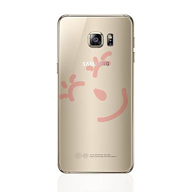 Maska Pentru Samsung Galaxy S8 Plus S8 Transparent Model Capac Spate Desene Animate Moale TPU pentru S8 Plus S8 S7 edge S7 S6 edge plus
