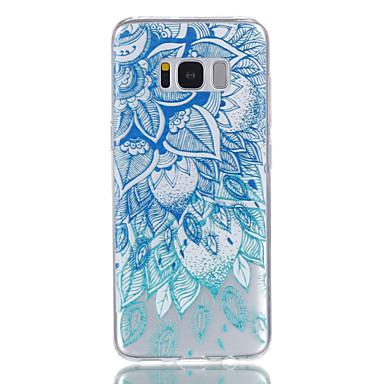 Hülle Für Samsung Galaxy S8 Plus S8 Muster Rückseitenabdeckung Blume Weich TPU für S8 S8 Plus S7 edge S7 S6 S5