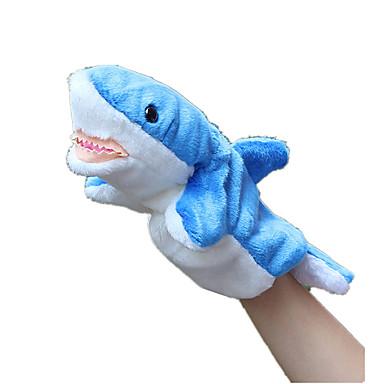 Poppen Shark Pluche stof