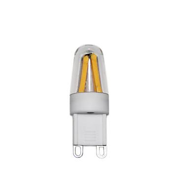 3W 2-pins LED-lampen T 4 COB 250 lm Warm wit Koel wit AC220 V