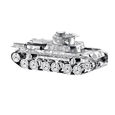 3D - Puzzle Holzpuzzle Modellbausätze Spielzeuge Panzer Kriegsschiff Flugzeug 3D Heimwerken Edelstahl Metal Unisex Stücke