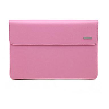 Ärmel für MacBook Air 11 Zoll Einheitliche Farbe PU Leder Stoff