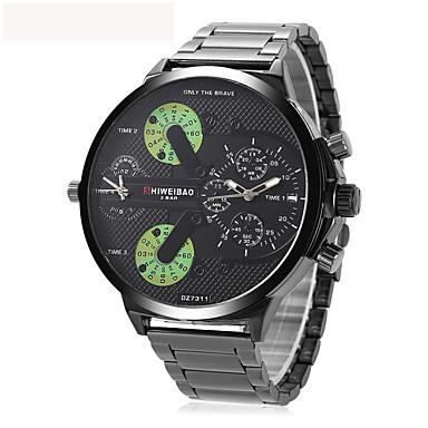 Heren Volwassenen Unieke creatieve horloge Polshorloge Dress horloge Modieus horloge Sporthorloge Chinees Kwarts Kalender Waterbestendig