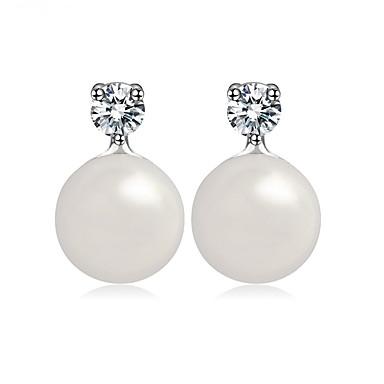 Pentru femei Perle Cercei Stud - Design Unic Euramerican Modă Alb Altele cercei Pentru Nuntă Zi de Naștere Petrecere / Seară Absolvire