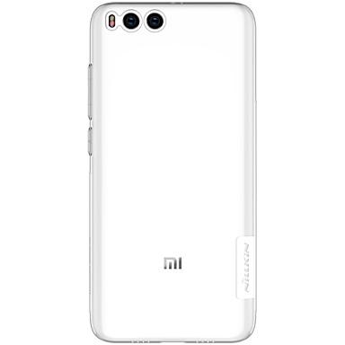 hoesje Voor Xiaomi Transparant Achterkant Effen Zacht TPU voor Xiaomi Mi 6