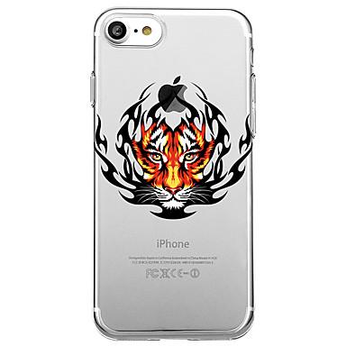 Maska Pentru Apple Transparent Model Carcasă Spate Animal Moale TPU pentru iPhone 7 Plus iPhone 7 iPhone 6s Plus iPhone 6 Plus iPhone 6s