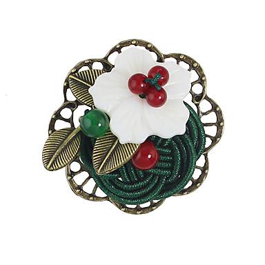 Dame Broșe Design Basic Floral Aliaj Flower Shape Bijuterii Pentru Casual