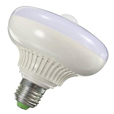12W 1000-1200lm E26 / E27 Slimme LED-lampen T120 12 LED-kralen SMD 5630 Infrarood Sensor Licht controle Menselijke lichaamsensor Warm wit