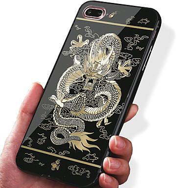 hoesje Voor iPhone 7 iPhone 7 Plus Apple Schokbestendig Beplating Patroon Achterkant dier Hard Acryl voor iPhone 7 Plus iPhone 7