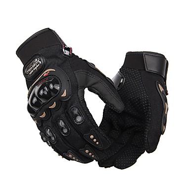 أنشطة / قفازات الرياضة للجنسين قفازات الدراجة قفازات ركوب الدراجة يمكن ارتداؤها متنفس مضاد للانزلاق واقي اصبع كامل قماش قفازات الدراجة
