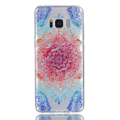 Hülle Für Samsung Galaxy S8 Plus S8 Transparent Muster Rückseitenabdeckung Lace Printing Weich TPU für S8 S8 Plus S7 edge S7 S6 S5