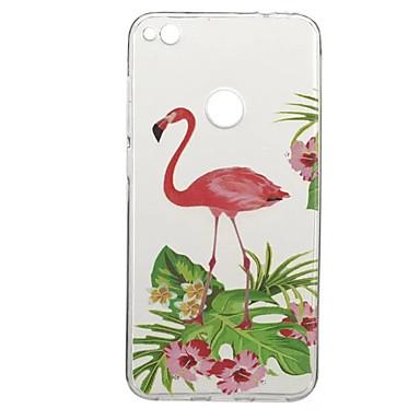 hoesje Voor Huawei P9 Huawei P9 Lite Huawei Honor 5C Huawei Patroon Achterkant Flamingo dier Zacht TPU voor P10 Plus P10 Huawei P9 Lite