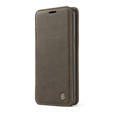 Hülle Für Samsung Galaxy S8 Plus S8 Kreditkartenfächer Geldbeutel Stoßresistent mit Halterung Ring - Haltevorrichtung Flipbare Hülle