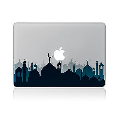 1 stuks Skinsticker voor Krasbestendig Stad Patroon PVC MacBook Pro 15'' with Retina MacBook Pro 15 '' MacBook Pro 13'' with Retina