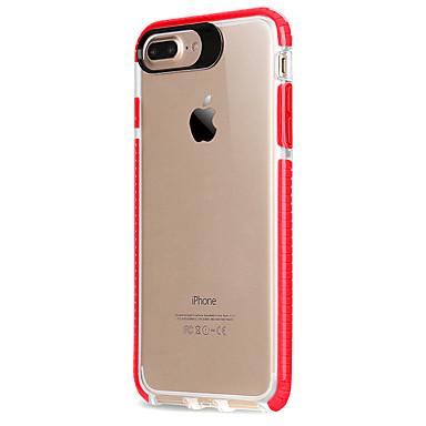 Voor apple iphone 7 7 plus 6s 6 plus case cover acryl backplane tpu frame high penetration non slip slip telefoon hoesje