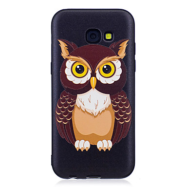 Hülle Für Samsung Galaxy A5(2017) A3(2017) Muster Rückseite Eule Weich TPU für A3 (2017) A5 (2017) A5(2016) A3(2016)