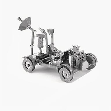 puzzle-uri Puzzle 3D Blocuri de pereti DIY Jucarii Nava spatiala Oțel inoxidabil Jucărie de Construit & Model