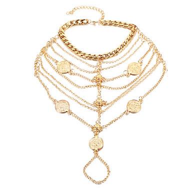 Pentru femei Brățară Gleznă/Brățări Aliaj La modă Turcă costum de bijuterii Buton Bijuterii Pentru Zilnic Casual