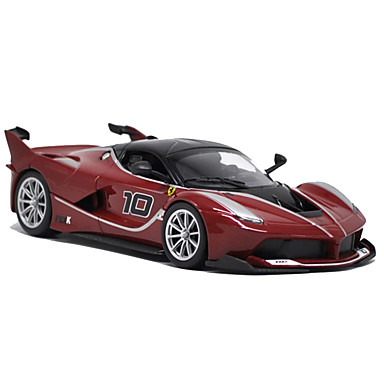 burngo Speelgoedauto's Speeltjes Modelauto Motorfietsen Racewagen Speeltjes Simulatie Muziek en licht Rechthoekig Metaallegering Rauta