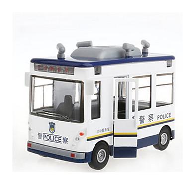 Speelgoedauto's Modelauto Terugtrekvoertuigen Legervoertuig Politieauto Speeltjes Muziek en licht Trein Metaallegering Metaal Stuks Unisex