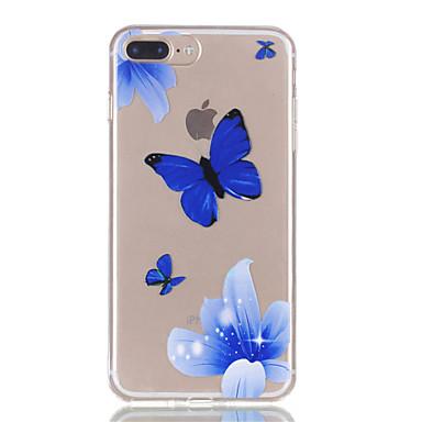 Pentru iphone 7plus 7 tpu material fluture model de relief telefon caz 6s plus 6plus 6s 6 se 5s 5
