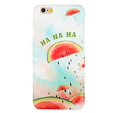 hoesje Voor Apple iPhone 7 Plus iPhone 7 Patroon Achterkant Fruit Hard PC voor iPhone 7 Plus iPhone 7 iPhone 6s Plus iPhone 6s iPhone 6