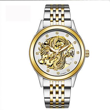 Herrn Erwachsene Sportuhr Militäruhr Kleideruhr Modeuhr Armbanduhr Armband-Uhr Mechanische Uhr Armbanduhren für den Alltag Simulierter