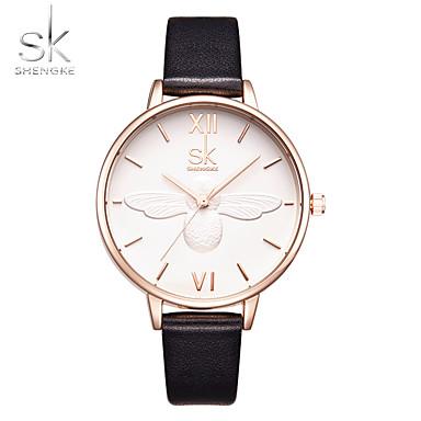 Damen Modeuhr Armbanduhr Chinesisch Quartz Schockresistent Großes Ziffernblatt Rose Gold überzogen Band Luxus Freizeit Schmetterling