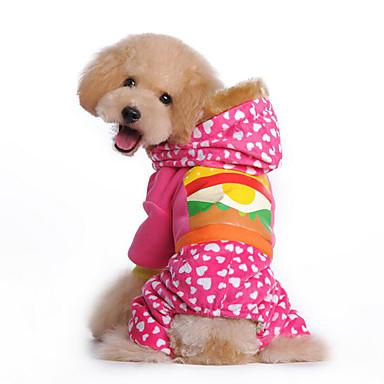 كلب هوديس حللا ملابس الكلاب طبيعة أصفر زهري قطن بطانة فرو كوستيوم للحيوانات الأليفة للرجال للمرأة كاجوال/يومي