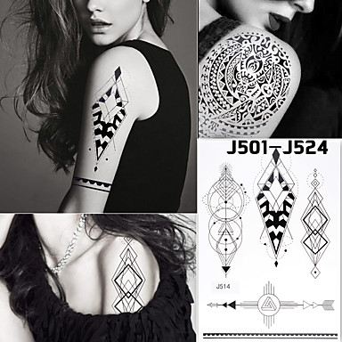 Tier Serie Damen Herren Teen Flash-Tattoo Temporary Tattoos