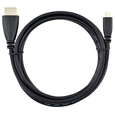 HDMI Micro Kabel, HDMI Micro to HDMI 1.4 Kabel Male - Male 3.0M (10Ft)