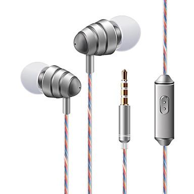 soyto KDK 204 În ureche Cablu Căști Dinamic Plastic Telefon mobil Cască Cu controlul volumului Cu Microfon Stereo Setul cu cască