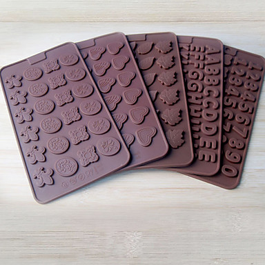 2 stuks taartvorms nieuwigheid kookgerei broodchocoladetaart silicagel bakmachine creatief diy willekeurige kleur